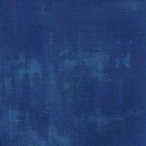Moda Basic Grey Grunge Modern Texture Cobalt