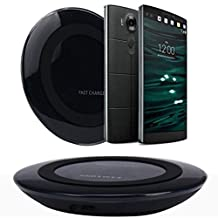 Bessky® 2015 Qi Wireless Charger Charging Pad for LG V10 G4 G3 Nexus 4 5 7 Other Qi Phone (Black)