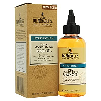 "Dr. Miracle's ""Feel It"" Formula Stimulating Moisturizing Gro Oil"