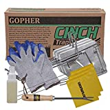 Cinch Gopher Trap with Tunnel Marking Flag (Small) Heavy-Duty, Reusable Rodent Trapping System | Lawn, Garden, and Outdoor Use | W/ Tools (Pack of 3)