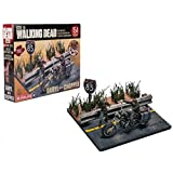 AMC The Walking Dead Building Sets DARYL WITH CHOPPER by McFarlane