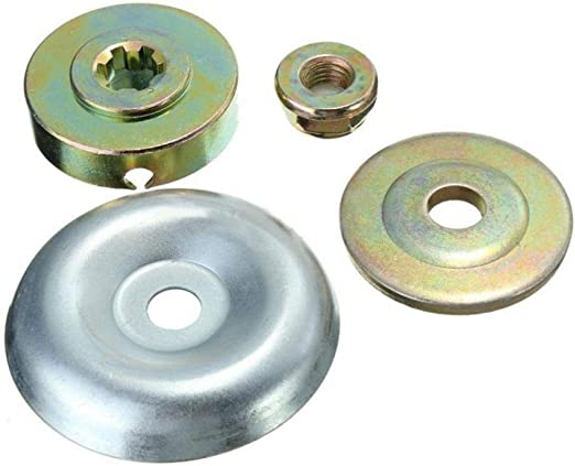 Froiny 4pcs / Bolsa de la Caja de Engranajes de Metal de reemplazo de la Hoja de la Tuerca de fijación del Kit para Strimmer Desbrozadora: Amazon.es: Hogar