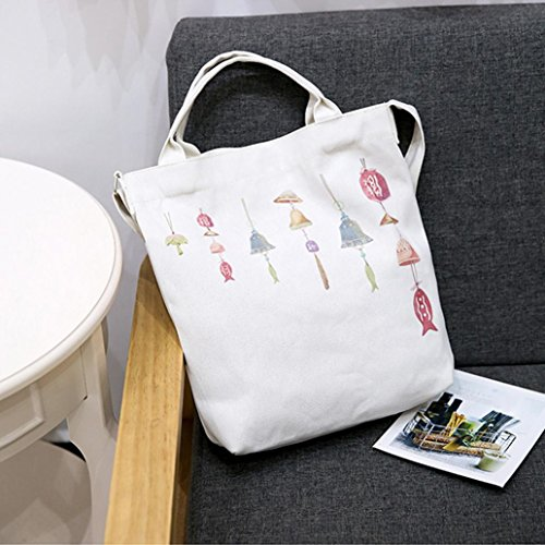 Handbags Femme Beach Shopping C Tote Bag erthome Cats Bags Cartoon Printed Canvas 1PC n8OTznqCw