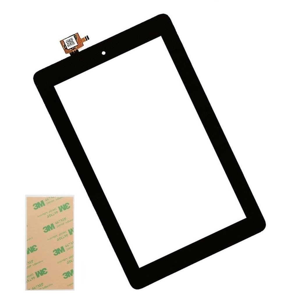XR Touch Screen Glass Digitizer Replacement for Amazon Kindle Fire 7 5th 2015 SV98LN with Tools (NOT 7th Gen,2017 release)