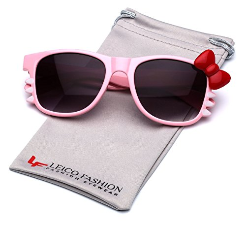 Hello Kitty Bow Women's Fashion Glasses with Bow and Whiskers - Pink - Hello Kitty Designer