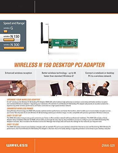 D-Link N-150 Mbps Desktop Adapter