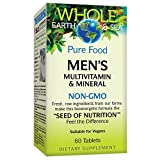 Whole Earth & Sea from Natural Factors, Men's Multivitamin & Mineral, Whole Food Supplement, Vegan and Gluten Free, 60 Tablets (30 Servings)