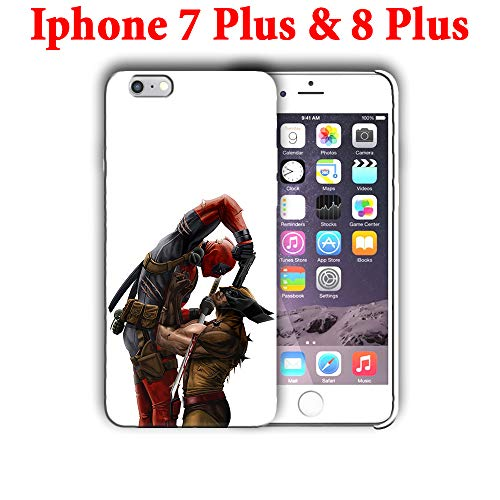 Hard Case Cover with Deadpool, Wolverine, Comics, Antihero Design Compatible with iPhone 7 Plus & iPhone 8 Plus 5.5in (dead6)]()