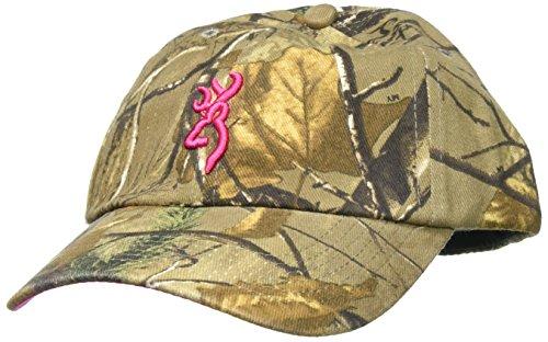Browning 3D Buckmark Cap for Her, Realtree Xtra/Fuchsia