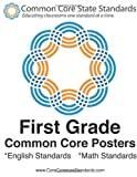First Grade Common Core Posters, CoreCommonStandards Staff, 147911829X