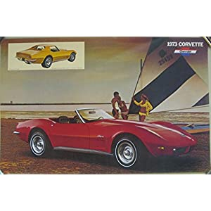 1973 Chevrolet Corvette Stingray Poster
