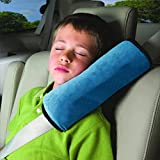 House of Quirk Shoulder Pad Seat Belt Cushions For Safety (Blue)