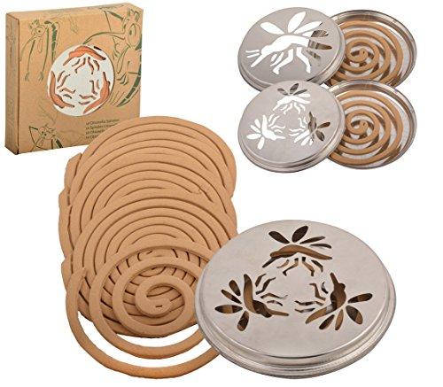 Esschert Design FF1 Citronella Coils W/ 10 Replacement Coils by Esschert Design