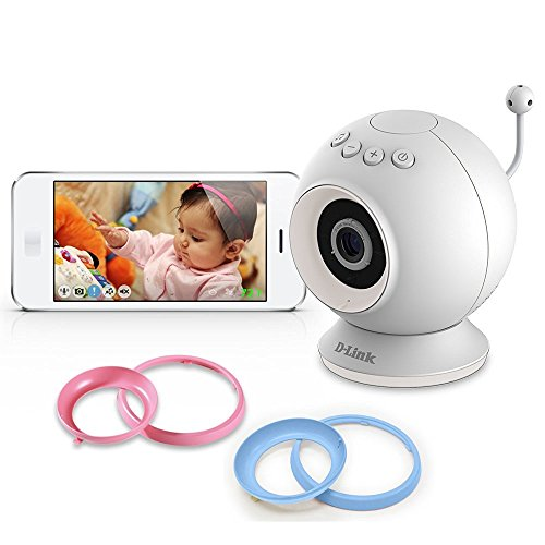 D-Link DCS-825L HD WiFi Baby Camera - Temperature Sensor, Personalize Audio, 2-Way Talk, Local and Remote Video Baby Monitor app for iPhone and Android