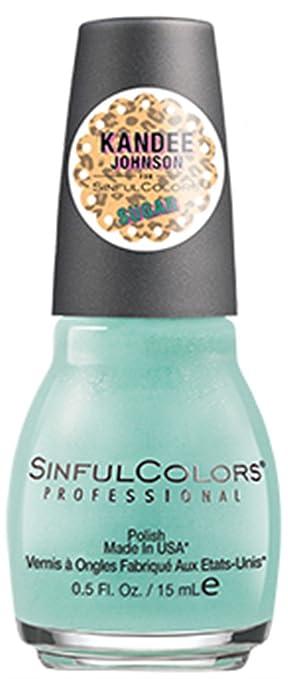 Amazon.com: Sinful Colors Nail Polish Kandee Johnson Sugar ...