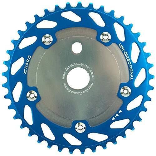 Haro Uni Directional BMX Bike Sprocket Chainring 44T (Teal/Silver)
