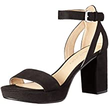 CL by Chinese Laundry Women's Go on Super Suede Platform Dress Sandal