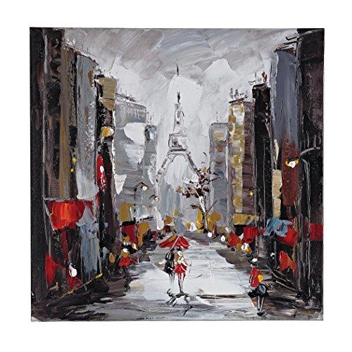 - Hamptons Collection Paris Scene Oil On Canvas