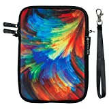 Caseling 7-8 Inch Tablet E-Reader Neoprene Sleeve Carrying Case Bag. For Tablets like Samsung Galaxy iPad mini Android Google Nexus 7 and more. - Colorful