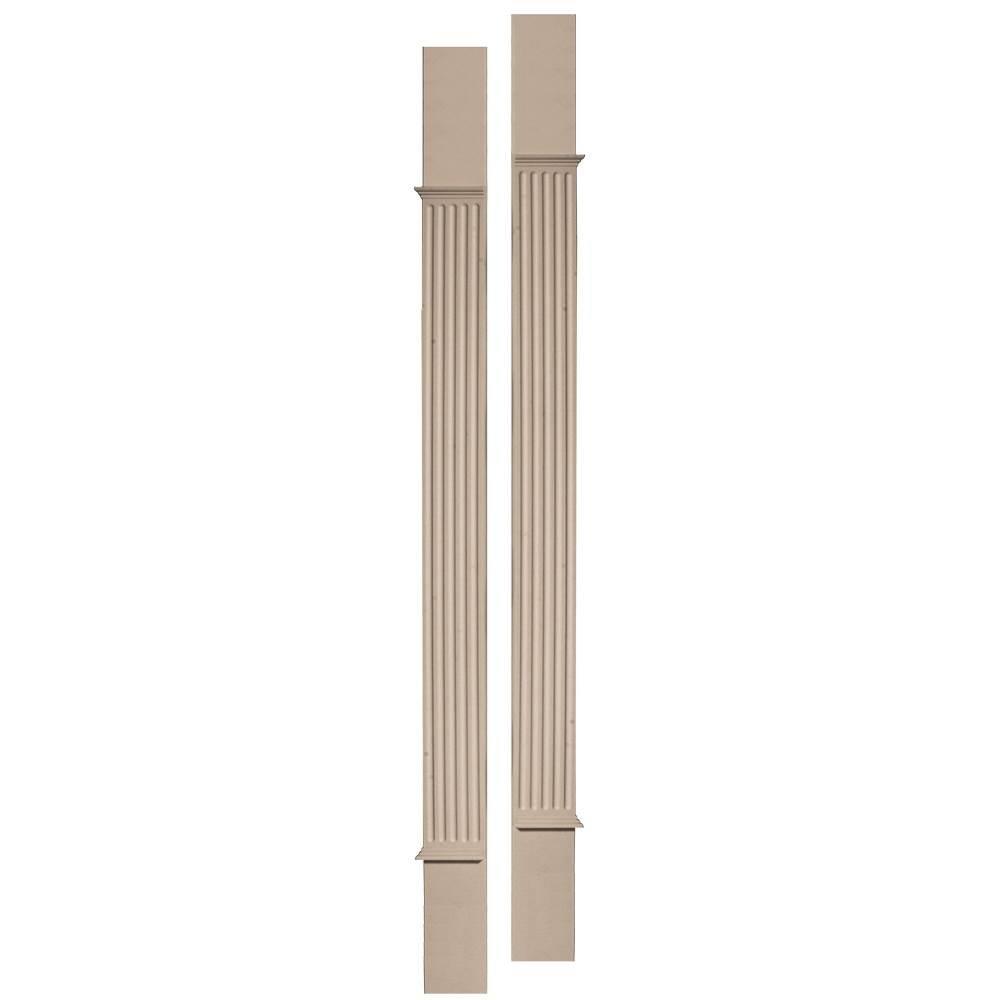 Builders Edge 100010008023 Door Surround Pilaster Kit 023, Wicker