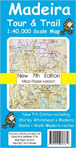 Madeira Tour & Trail Map - Paper Version (Tour & Trail Maps ... on bermuda map, jamaica map, lisbon map, casiquiare canal map, mauritius map, vila franca do campo map, australia map, mayotte map, uzbekistan map, bussaco map, broadview heights map, taiwan map, portugal map, rheinhessen map, algarve region map, mt lookout map, lake titicaca map, west indies map, slovenia map, canary islands map,