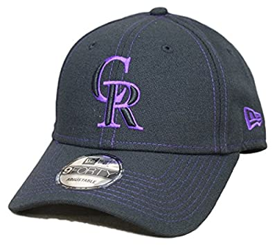 Colorado Rockies New Era 9Forty MLB The League Class Adjustable Hat