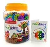 VIAHART Brain Flakes 500 Piece Interlocking Plastic Disc Set | A Creative and Educational Alternative to Building Blocks | Tested for Childrens Safety | A Great STEM Toy for Both Boys and Girls!