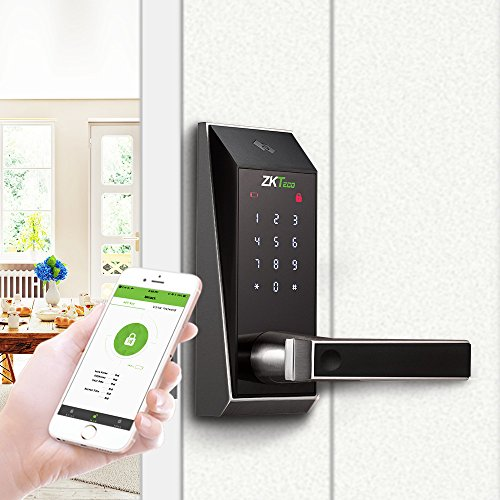 ZKTeco Bluetooth Enabled Keyless Keypad Door Lock Digital El