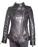 Product review for Paccilo Women Larger PLUS & ALL SIZE 4123 Leather Motorcycle Jacket Silky Lining
