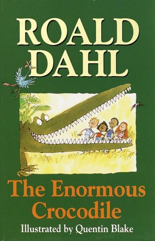 book cover of The Enormous Crocodile