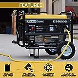 Durostar DS4000S Portable Generator, Yellow/Black