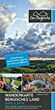 Bergisches Land (Mitte) - Wanderkarte 4: Bergisch Gladbach, Lindlar, Gummersbach, Rösrath, Overath, Engelskirchen, Wiehl, Much, Nümbrecht - Naturpark Bergisches Land 1:25.000