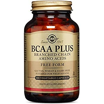 Solgar - BCAA (Branched Chain Amino Acids) 100 Vegetable Capsules