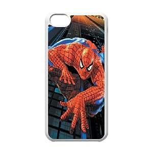 LSQDIY(R) spiderman iPhone 5C Customized Case, Unique iPhone 5C Durable Case spiderman