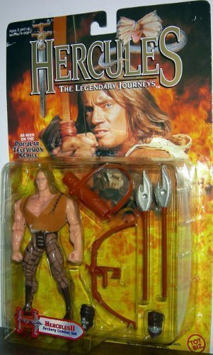 Toy Biz Hercules The Legendary Journeys Television Series Hercules II Archery Combat Set Action Figure, 5-Inch
