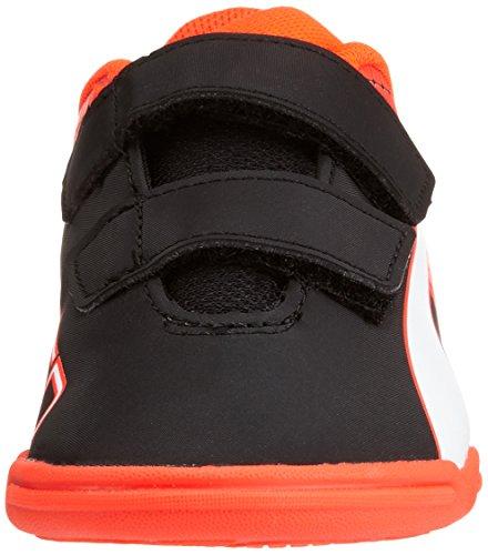 Chaussures 01 IT Noir White Football 5 Blast Black red 5 de Jr V Puma Compétition Enfant Evospeed Mixte puma qxwUS1fY