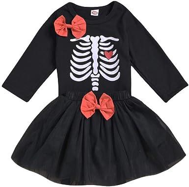 FELZ Vestidos Bebés niñas Ropa Bebe Niña Disfraz Halloween ...