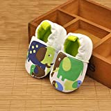KathShop Newborn Infant Boys Girls Soft Sole Cotton Crib Shoes Anti-Slip Animal Print Cute Shoes for 0-12M