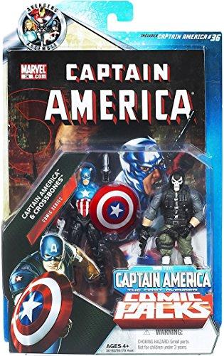 (Marvel Universe Greatest Battles Exclusive Action Figure 2Pack Captain America)