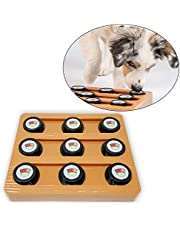 OurPets Sushi Interactive Puzzle Game Dog Toys & Cat Toys (Dog Puzzle, Cat Puzzle & Interactive Dog Toys) Great Alternative to Snuffle Mat for Dogs, Slow Feeder Dog Bowls & Slow Feeder Cat Bowl