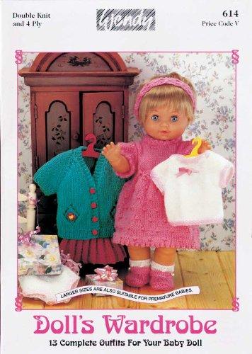 Dolls Wardrobe Knitting Patterns Amazon Kitchen Home