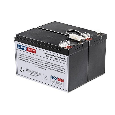 LCD BR1300LCD Compatible Replacement Battery Pack by UPSBatteryCenter ()