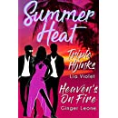 Summer Heat: Heaven's on Fire & Triple Hijinks : Two Sizzling Menage Adventures (Seasons of Three Book 2)