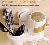 Hair Dryer Holder,Bathroom Hair Blow Dryer Holder,Hair Care Tools...