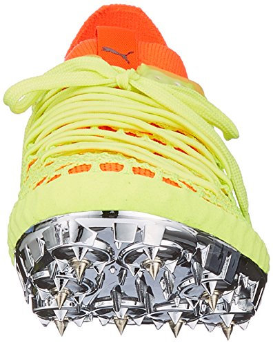 Black Yellow Chaussures D'athlétisme fizzy red Blast Mixte Evospeed puma Adulte Puma Netfit Sprint Jaune wqOffz