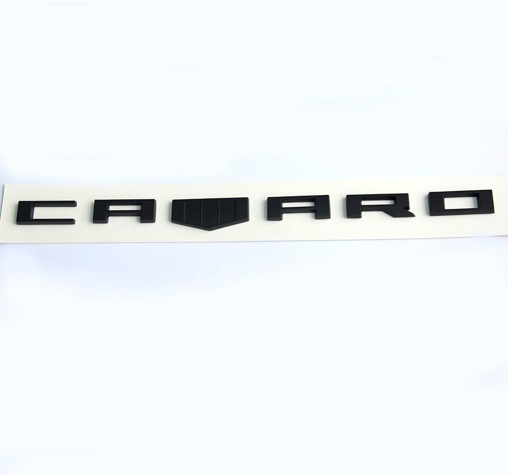 1x OEM Camaro M Emblem 3D Badge Front Right Left Fender Chevrolet F matte BlacK