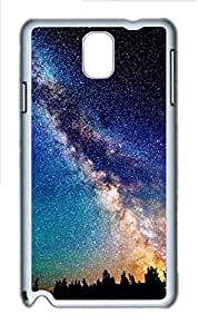 Samsung Galaxy Note 3 N9000 Cases & Covers - Skies And Space Custom PC Soft Case Cover Protector for Samsung Galaxy Note 3 N9000 - White