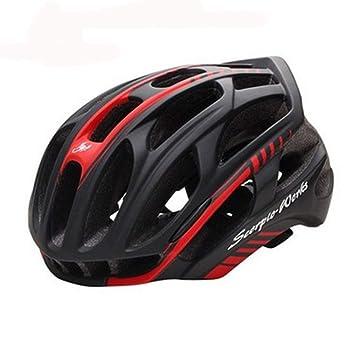 Amazon.com: Casco de seguridad para bicicleta, ligero, para ...