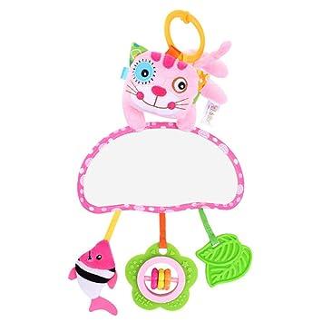 WEISHAZI - Juguete de felpa para bebé, multifuncional, educativo ...