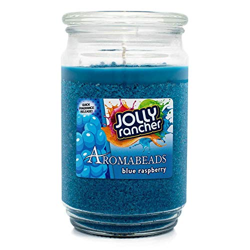 - Jolly Rancher Blue Raspberry Scented Aromabeads Candle
